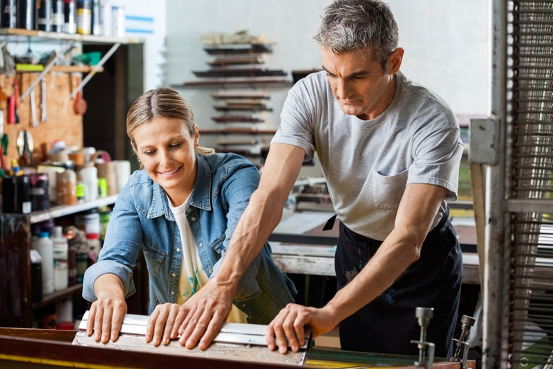 Employees who interact and work together often are often happier.