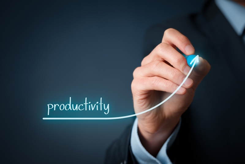 Want to see productivity rise dramatically? Improve employee happiness.